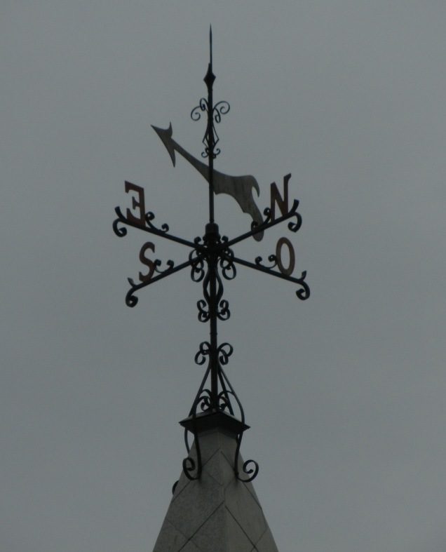 Quebec.Weathervane